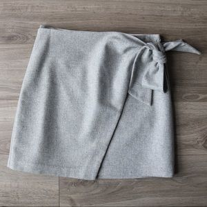 Wilfred Tie Front Skirt
